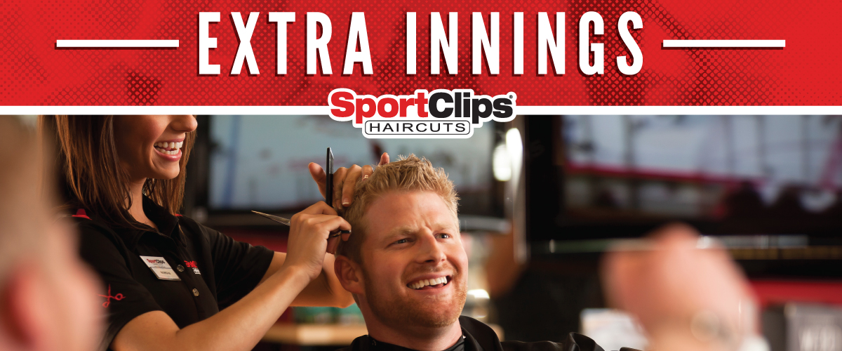 The Sport Clips Haircuts of Carrollton Extra Innings Offerings